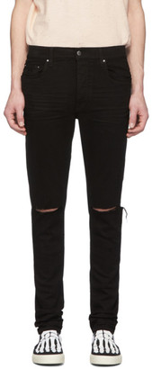 Amiri Black Slash Jeans