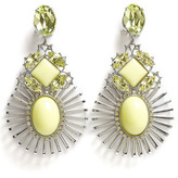 Anton Heunis Wire Setting Crystal Cluster Earring
