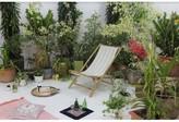 Denna Folding Bamboo Relax Sling Beach Chair Highland Dunes
