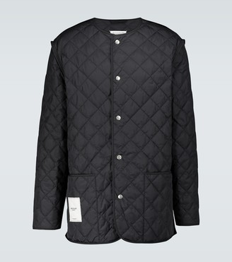 Maison Margiela Padded sports jacket with zipper