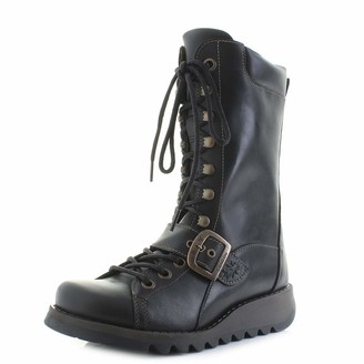 Fly London Women's SELU526FLY Combat Boots
