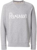 MAISON KITSUNÉ Parisien print sweatshirt - men - Cotton - S