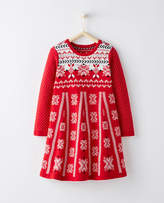 Hanna Andersson Snö Happy Sweater Dress