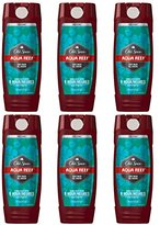 Old Spice Red Zone Men's Body Wash,16 Fluid Ounce (Pack of 6)