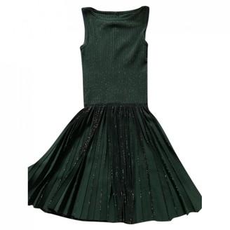 Alaã ̄A AlaAa Khaki Viscose Dresses