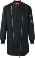 Christian Dior asymmetric zip jacket