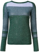 Carven glitter effect jumper