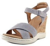 Børn Colton Open Toe Leather Wedge Heel.