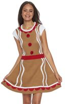 It's Our Time Juniors' Costume Christmas Sweaterdress