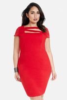 Fashion to Figure Lyla Strappy Neckline Dress