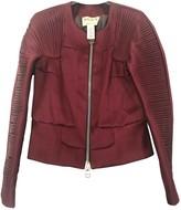 Krizia Burgundy Jacket for Women Vintage