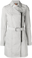 Parajumpers zip detail trench coat - women - Polyester - S