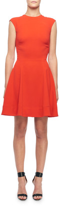 Victoria Beckham Sleeveless Fit & Flare Dress