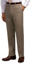 Brooks Brothers Irish Linen Plain-Front Trousers