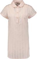 Bodas Shadow Striped Cotton Pajama Top