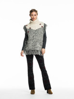 Scotch & Soda Knitted Funnel Neck Poncho