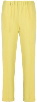 Alberto Biani Elasticated Slim-Fit Trousers