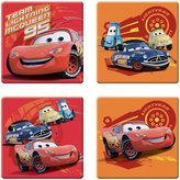 Ginsey Disney Bath Tub Appliques with Suction Cups - Cars