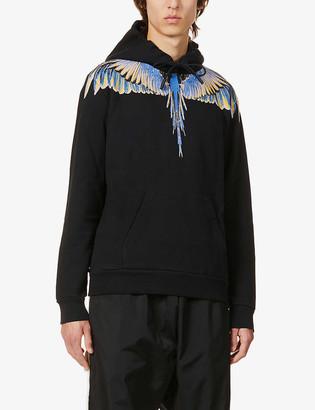 Marcelo Burlon County of Milan Wing-print cotton-jersey hoody