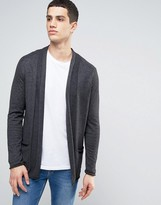 Casual Friday Fine Knit Cardigan With Pockets