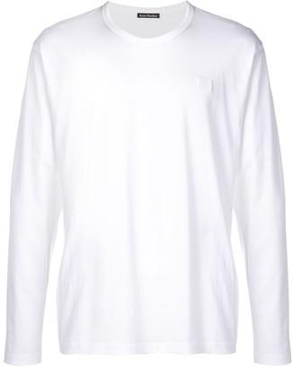 Acne Studios long-sleeved crew-neck T-shirt