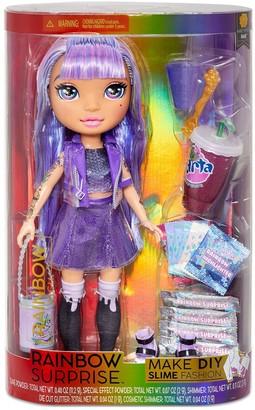 Rainbow Surprise Amethyst Rae 14-inchDoll with DIY Slime Fashion