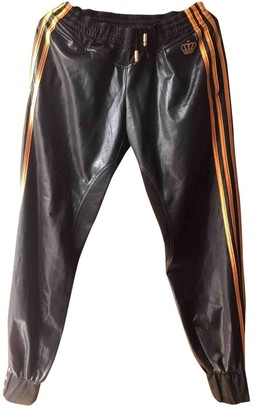 adidas Black Synthetic Trousers