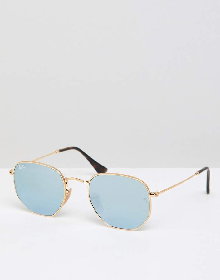 Ray-Ban 0RB3548N round sunglasses
