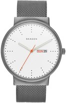 Skagen Ancher Round Mesh Strap Watch, 40mm