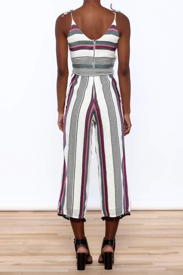 Saylor Multi Stripe Jumpsuit