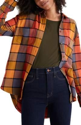 Madewell Emmy Plaid Flannel Sunday Shirt