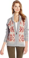 Pendleton Women's Mountain Zip Cardigan Sweater