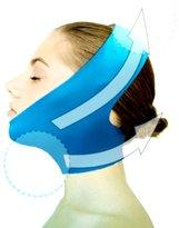 New Version Beauty V-Line Face Chin Neck Facial Skin Lift Up Belt Mask - Blue by Dexac