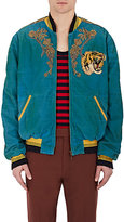Gucci Men's Stretch-Cotton Oversized Bomber Jacket