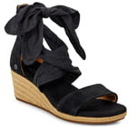 UGG Trina Ribbon Tie Wedge Sandal