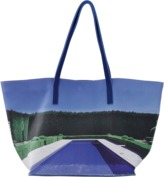 PAIGE GAMBLE Pebbled Leather Tote