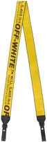 Off-White yellow Industrial Bag strap