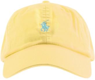 Ralph Lauren Classic Baseball Cap Yellow