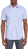 Ben Sherman Men's Mod Fit Floral Woven Shirt