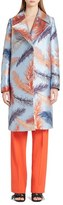Emilio Pucci Women's Feather Brocade Coat