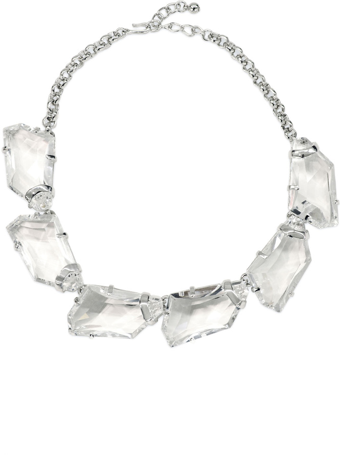 Kenneth Jay Lane Clarion Crystal Necklace