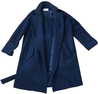 Vanessa Bruno Black Wool Coat for Women