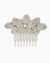 Charming charlie Frosted Flower Hair Comb