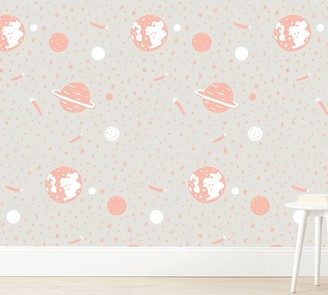Pottery Barn Kids Chasing Paper Wallpaper Space Odyssey