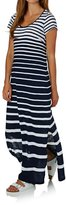 Joules Sandrine Round Neck Maxi Dress