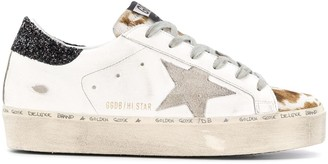 Golden Goose Hi Star platform sole sneakers