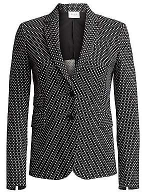 Akris Punto Women's Diamond Jacquard Blazer