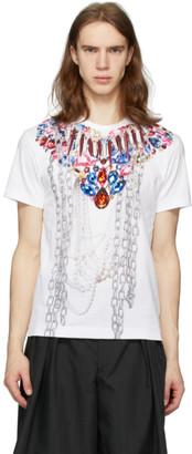 Comme des Garcons White Print A T-Shirt