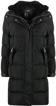 Mackage Luisa shearling hood down coat