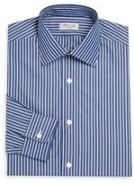 Charvet Regular-Fit Striped Cotton Dress Shirt